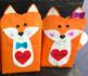 Valentine's Day Fox Box