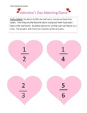 Valentine's Fraction Game