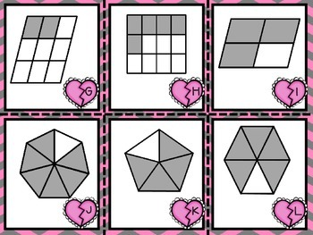 Valentine's Fraction Matchin'! {FREEBIE}