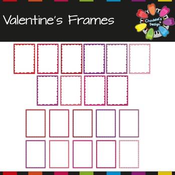 Valentine's Frames & Backgrounds