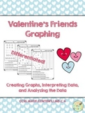 Valentine's Friends Graphing {CCSS Aligned & Differentiated!}