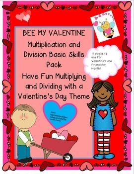Valentine's Friendship Month Math & Free Wordsearch