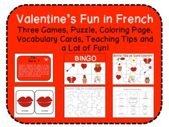 Valentine's Fun in French