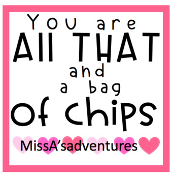 Valentines Gift Tag