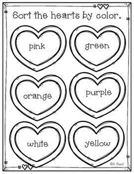 Valentines Graphing with Candy Hearts FREEBIE