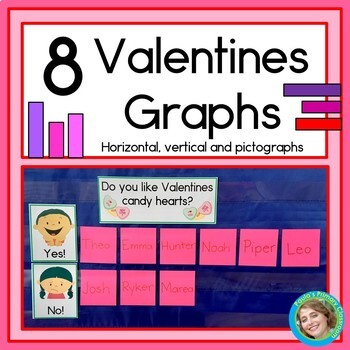 Valentines Graphs: Horizontal, Vertical and Pictographs