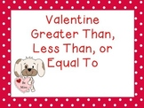 Valentine's Greater Than, Less Than, or Equal To