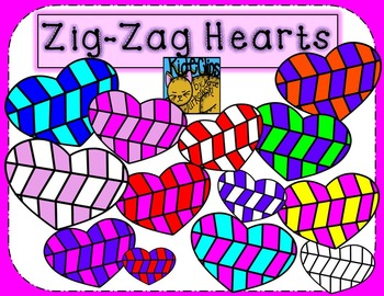 Valentine's Heart Clip Art by Kid-E-Clips Commercial and Personal