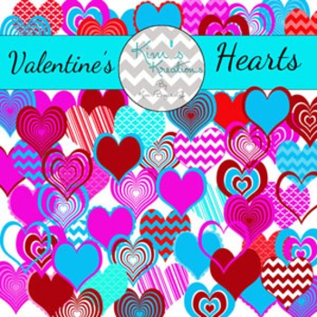 Valentine's Hearts Clipart