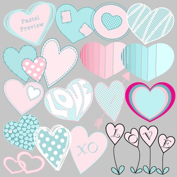 Valentine's Day Clipart - Heart to Heart