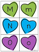 Valentine's Day: Uppercase and Lowercase Letters Recognition and Matching