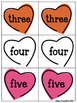 Valentine's Day: Numbers Recognition and Matching