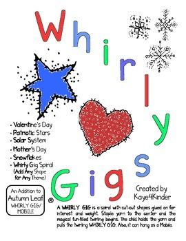 Valentines, Holidays, and Solar System Whirly Gigs