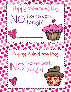 Valentine Homework Pass FREEBIE!