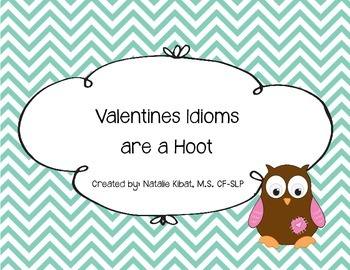 Valentine's Idioms Are a Hoot