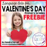Valentine's Day Poem - freebie