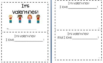Valentine's Language Arts & Writing Packet