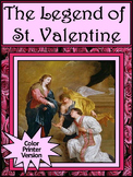 Valentine's Day Reading Activity: Legend of Saint Valentin