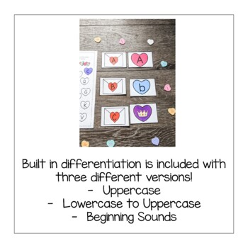 Valentines Letter Activity- Literacy Center