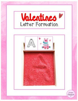 Valentines Letter Formation Cards
