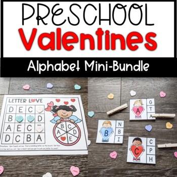 Preschool Valentine's Day Activities Bundle