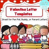 Valentines Letter Templates
