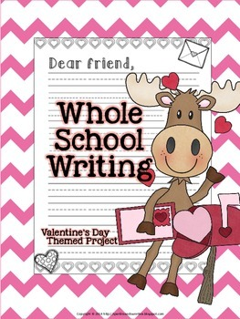 Valentine's Letters: Whole School Writing