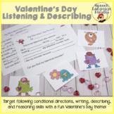 Valentine's Listening and Describing