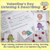 Valentine's Listening and Describing