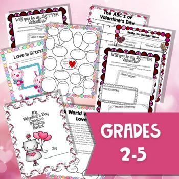 Valentine's Day Activity Pack: 20 Creative Thinking Valentine's Day Activities