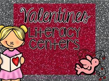 Valentines Literacy Centers