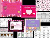 Valentines Literacy Centers for First or Second Grade