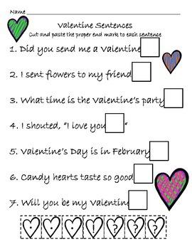 Valentine's Literacy Pack