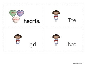 Valentine's Literacy and Math Activity Pack