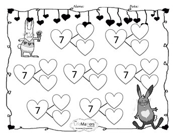 Valentine's Love Bunny Bonds Pack for Bonds of 6,7,8 and 9