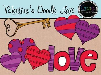 Valentine's Love - Digital Clipart