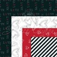 Valentines Love Digital Paper Pack 12x12 - Red & Black