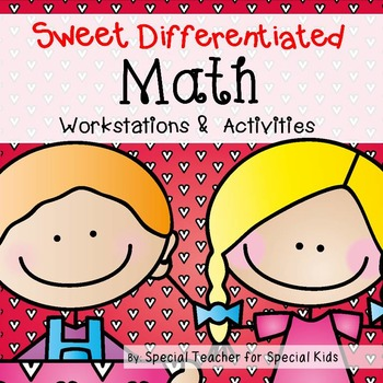 Valentine's MATH Centers and Activities