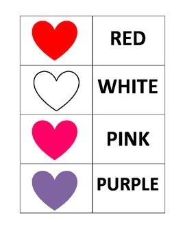 Valentine's Matching Game