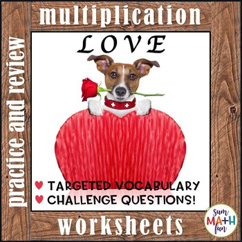 Multiplication Activities: Multiplication Facts Worksheets