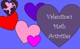 Valentines Math Activities