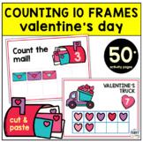 Valentine's Day Math Activities Preschool 10 Frames