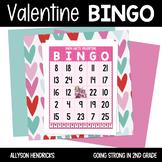 Valentines Math Addition & Subtraction BINGO