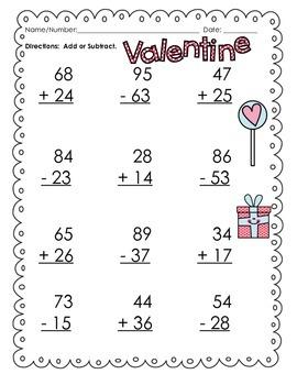Valentine's Math Bundle