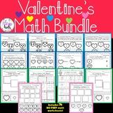 Kindergarten Math Bundle   Math Center Worksheets.