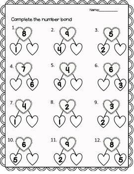 Valentine's Math Freebie