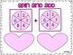Valentine's Math - Graphing, Simple Addition, and Task Cards