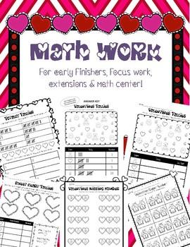 Valentines Math & Literacy Bundle