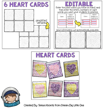 Valentines Math, Literacy, Social Skills Activities for prek and kindergarten