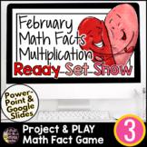 Valentine's Day Math Google Slides | Digital Math Games |